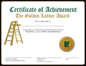 Golden Ladder Award