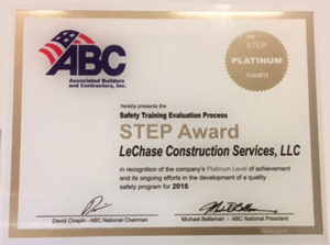 STEP Award in N.C.