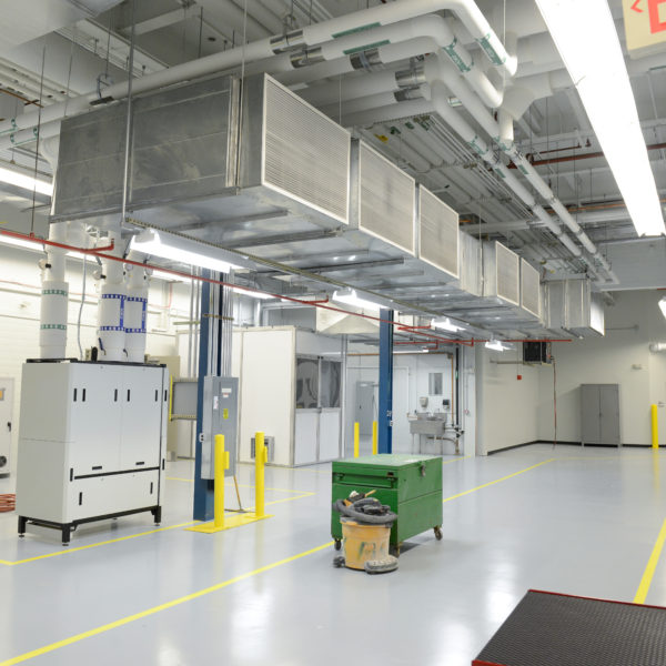 Testing facility and equipment