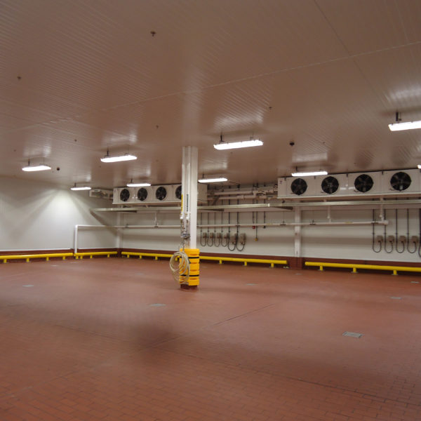 Clean space for a manufacturing facility