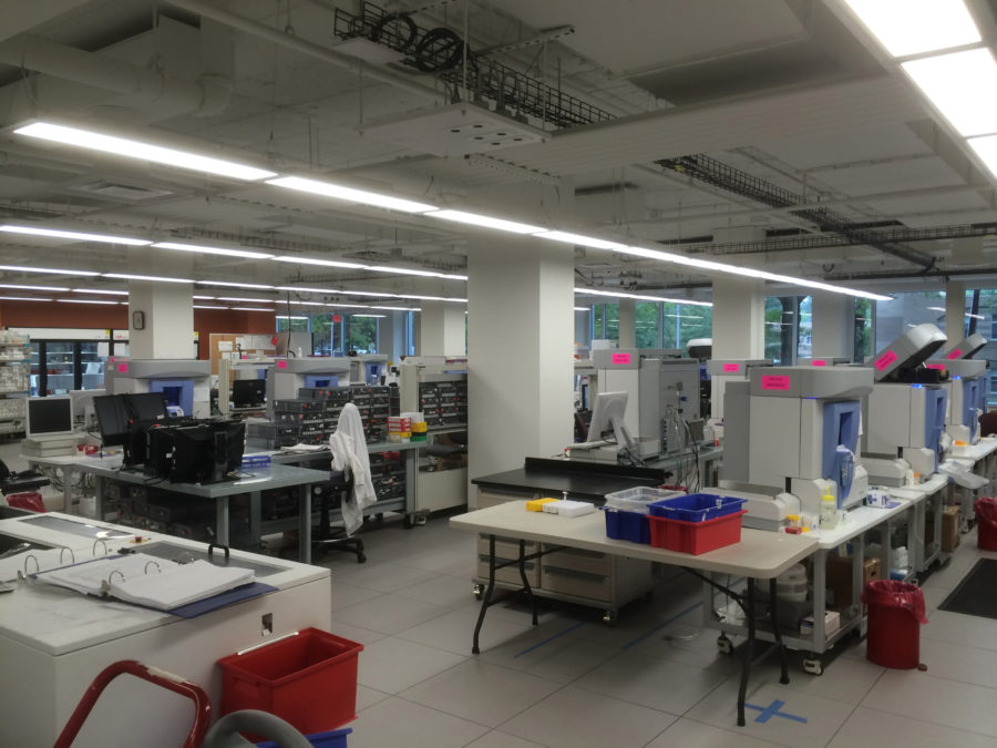 Lab space and equipment