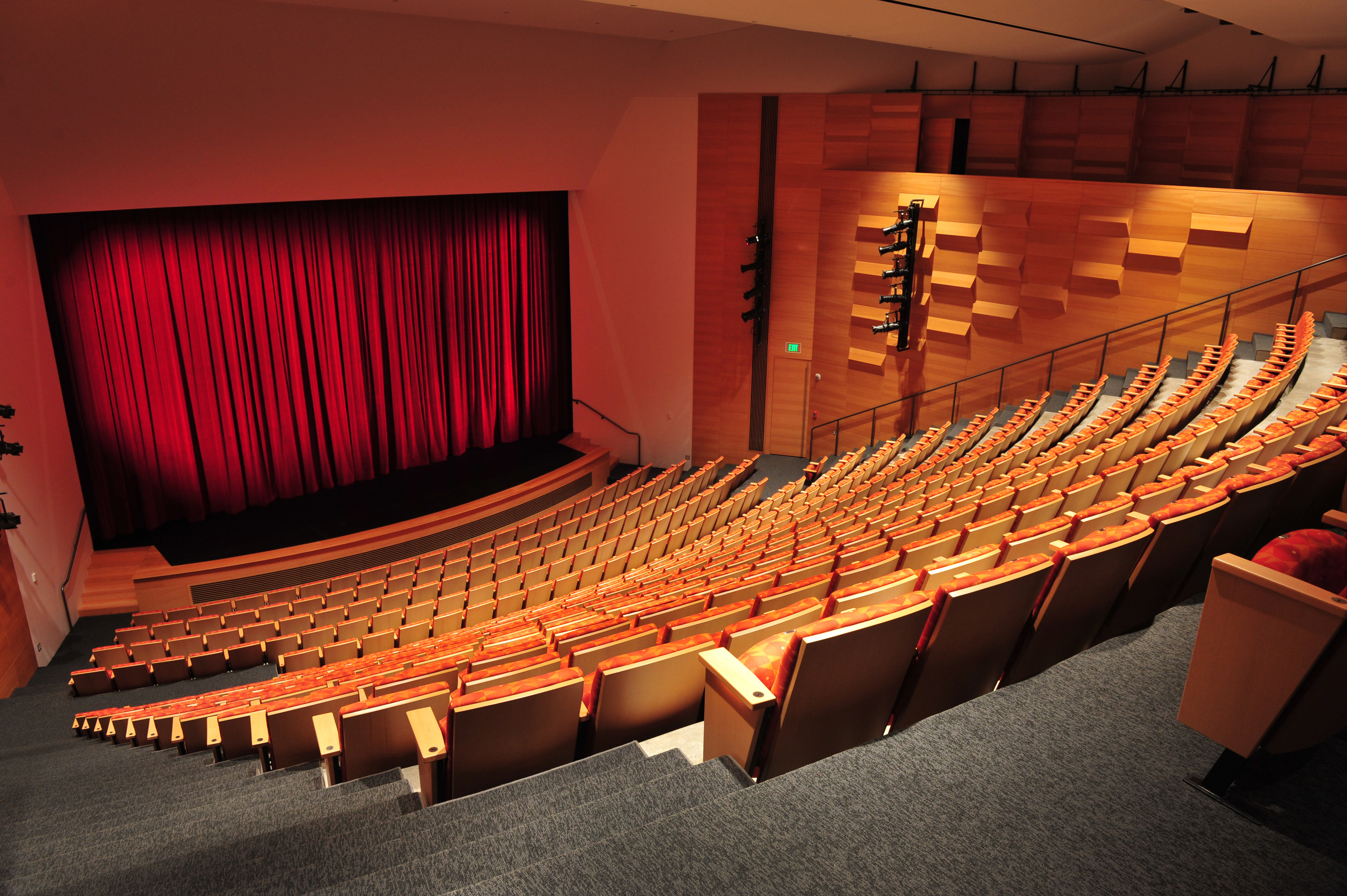 Alfred University Miller Performing Arts Center Lechase