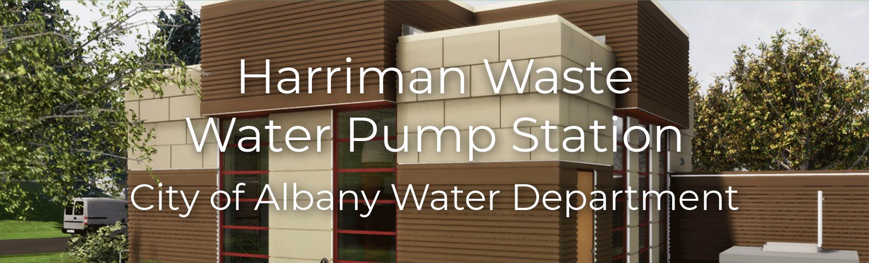 Harriman Waste Water Pump Station