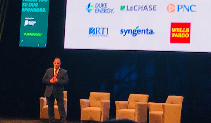 LeChase helps sponsor Triangle Group;s State of the Region Event