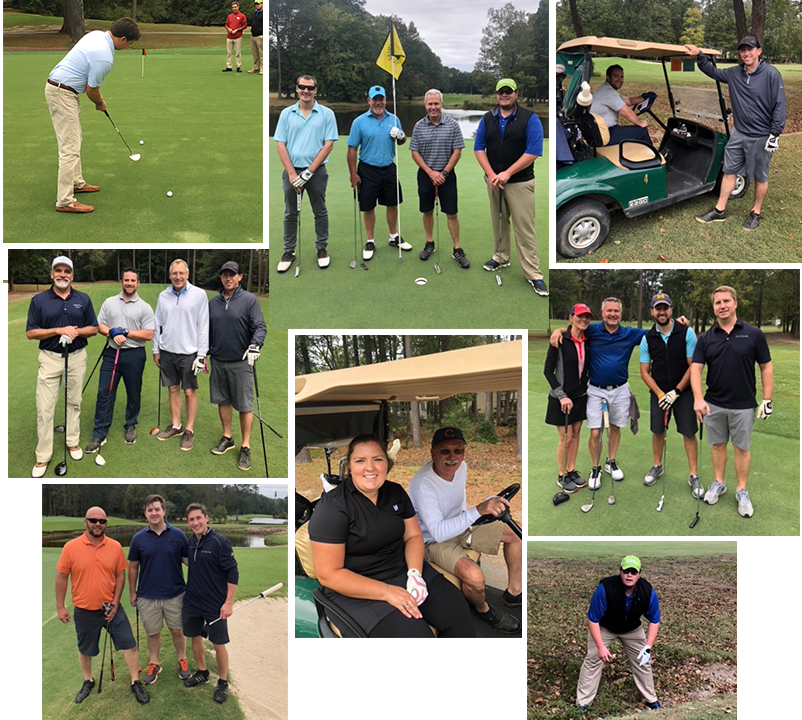 Images from LeChase southeast employee golf tournment