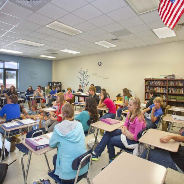 D.W. Daniel HS - Classroom