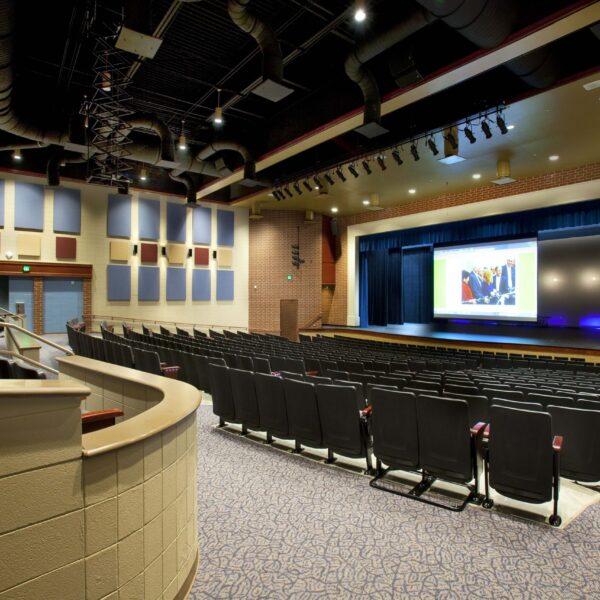 D.W. Daniel HS - Auditorium