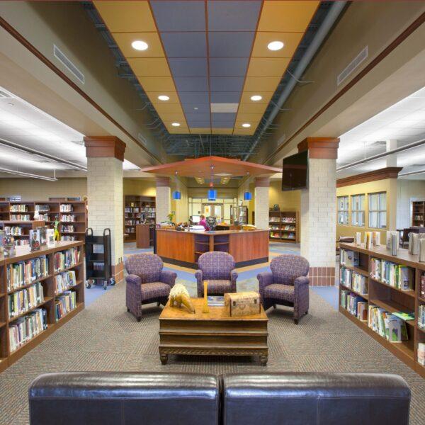 D.W. Daniel HS - Library