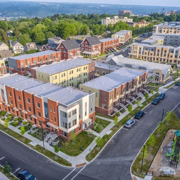 Greystar - Maplewood Apartments - Aerial