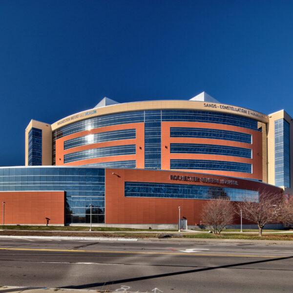 Rochester Regional Health - Center for Critical Care - Exterior