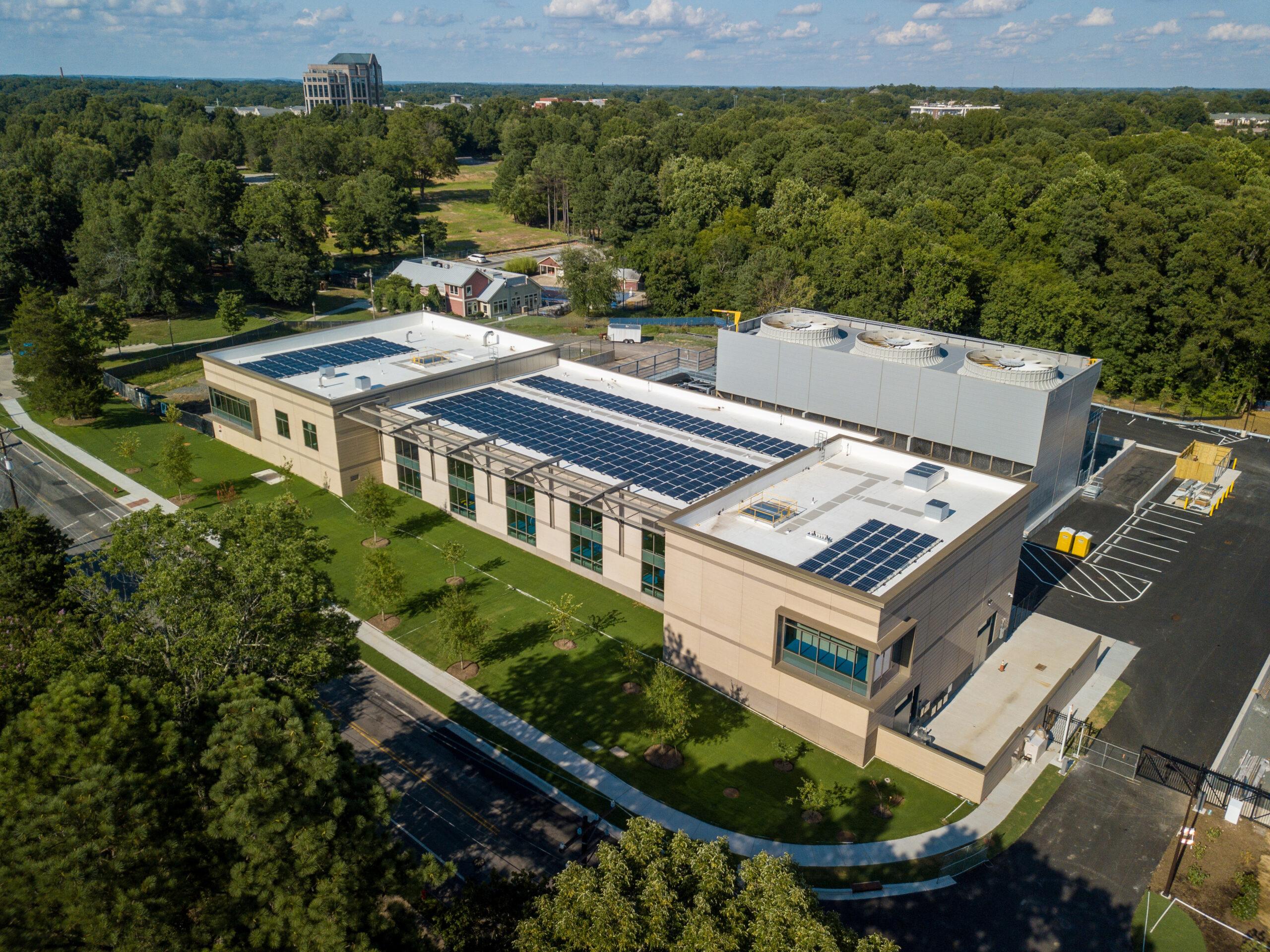 Duke University - Chiller Plant 3 Aerial