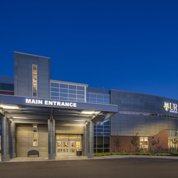 UR Medicine - St. James Hospital Exterior