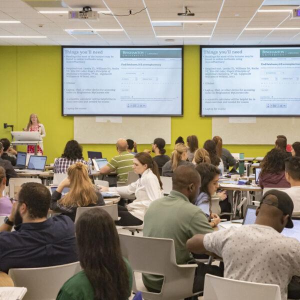 Binghamton University - School of Pharmacy - Classroom