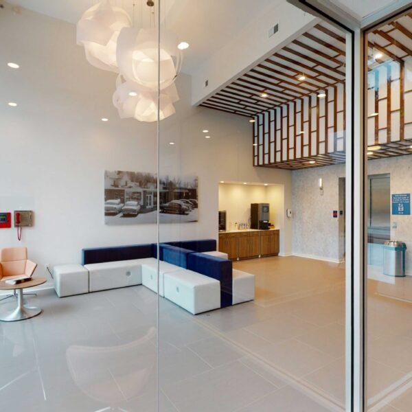 The Blue Light - Lobby- Common Room