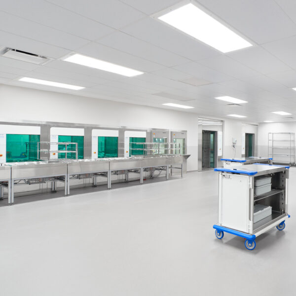 Rochester Regional Health - Center for Critical Care - Cleanroom