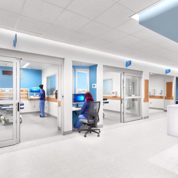 Rochester Regional Health - Center for Critical Care - Corridor