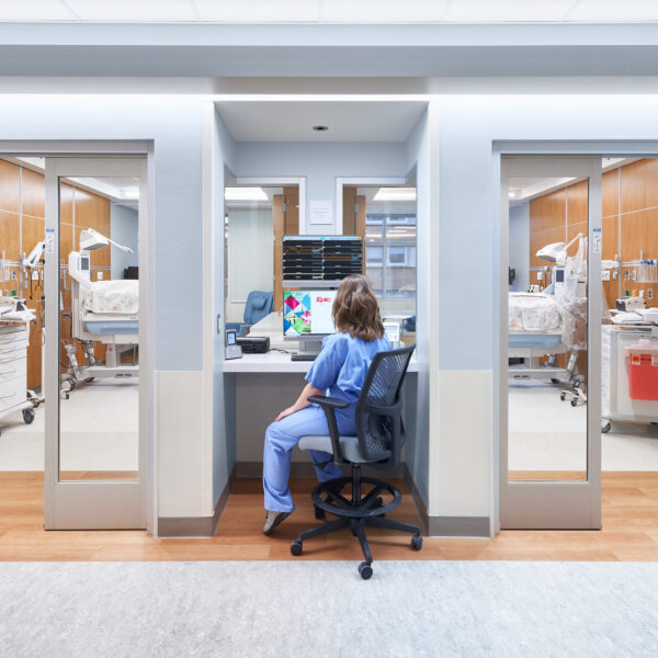 Rochester Regional Health - Center for Critical Care - NICU Foyer
