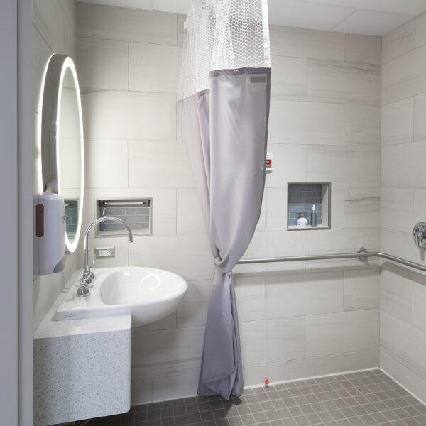 Rochester Regional Health - Center for Critical Care - Private Bathroom