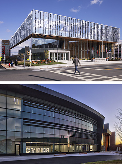 ENR NY Regional Best Projects for Higher Education/Research: NVRC and Global Cybersecurity Institute