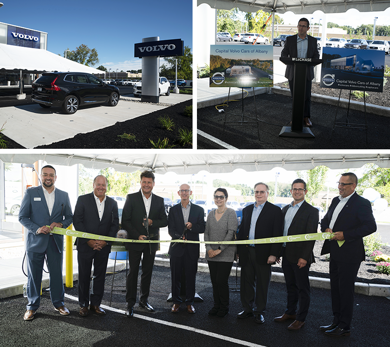 New Volvo dealership in Albany holds ribbon cutting
